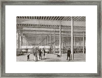 Samuel Allsopp   Sons Brewery In Framed Print by Vintage Design Pics