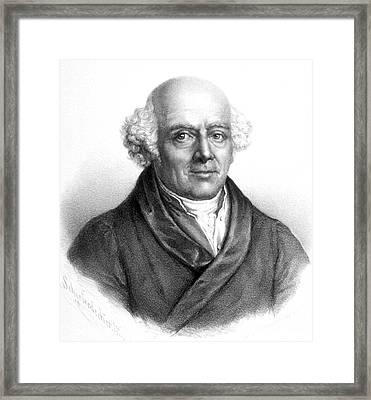 Samuel Hahnemann, German Physician Framed Print by Science Source