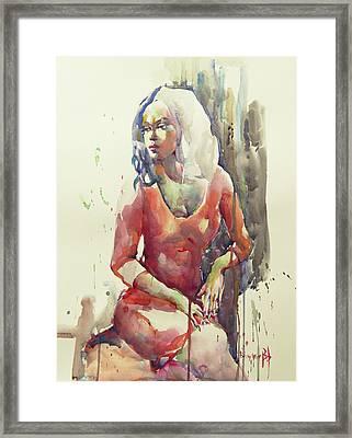 San Antonio Framed Print by Becky Kim