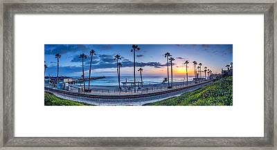 San Clemente In Pano Framed Print by Peter Tellone
