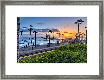 San Clemente Framed Print by Peter Tellone