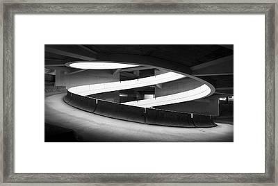 San Diego Brutalism  Framed Print by William Dunigan