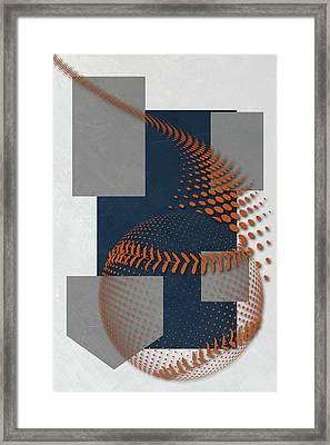 San Diego Padres Art Framed Print by Joe Hamilton