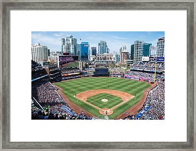 San Diego Padres Framed Print by Robert VanDerWal