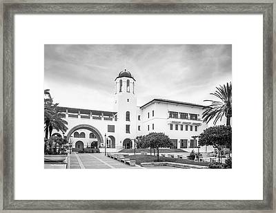 San Diego State University Campus Center Framed Print by University Icons
