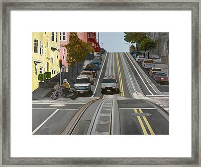 San Francisco Countryside Framed Print by Avi Lehrer