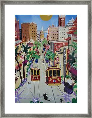 San Francisco Framed Print by Herbert Hofer