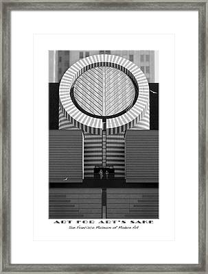 San Francisco Museum Of Modern Art Framed Print by Mike McGlothlen