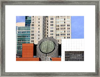 San Francisco Museum Of Modern Art Sfmoma 2 Framed Print by Wingsdomain Art and Photography
