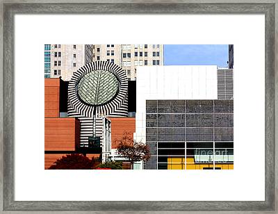 San Francisco Museum Of Modern Art Sfmoma 3 Framed Print by Wingsdomain Art and Photography