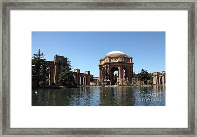 San Francisco Palace Of Fine Arts - 5d18061 Framed Print by Wingsdomain Art and Photography