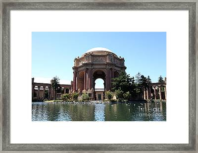 San Francisco Palace Of Fine Arts - 5d18107 Framed Print by Wingsdomain Art and Photography