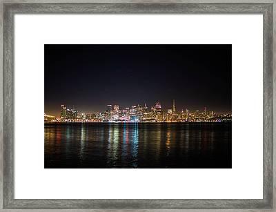 San Francisco Shot Framed Print by Britten Adams