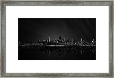 San Francisco Space IIi Framed Print by Juan Pablo De