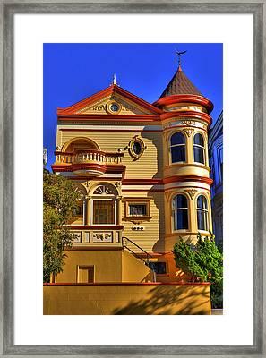 San Francisco Victorian Framed Print by Paul Owen