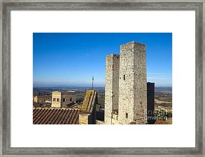 San Gimignano Framed Print by Andre Goncalves