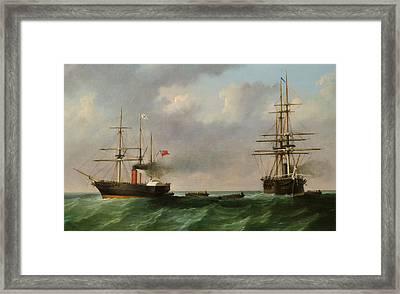 San Jacinto Framed Print by English School