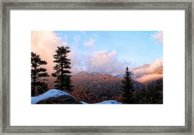 San Jacinto Mountains - California Framed Print by Glenn McCarthy Art and Photography