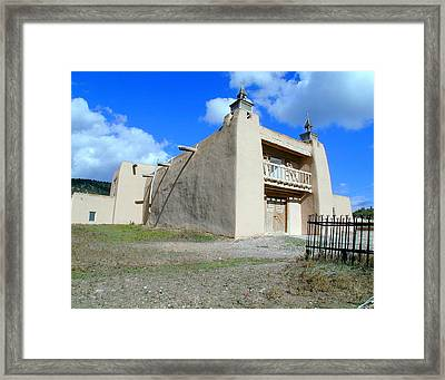 San Jose De Gracia Number 2 Framed Print by Joseph R Luciano