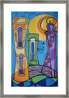 San Juan Alegre-1 Framed Print by Mary Tere Perez