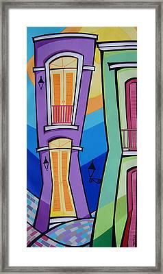 San Juan Alegre-4 Framed Print by Mary Tere Perez