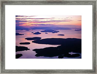 San Juans Tranquility Framed Print by Mike Reid