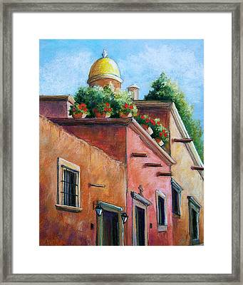 San Miguel De Allende Framed Print by Candy Mayer