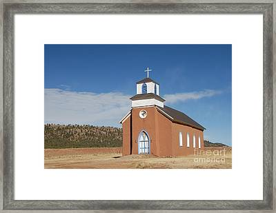 San Rafael Church Framed Print by Bill Hyde