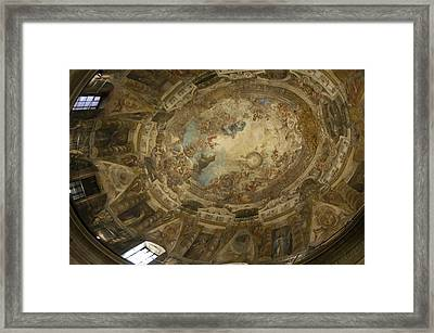 San Rafael/the Dome Framed Print by Hugh Peralta