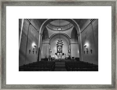 Sanctuary - Mission Concepcion No 1 Framed Print by Stephen Stookey