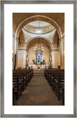 Sanctuary - Mission Concepcion No 3 Framed Print by Stephen Stookey