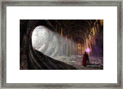 Sanctum Framed Print by John Edwards