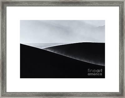 Sand Storm Aurora Framed Print by Mike Dawson