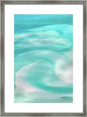 Sand Swirls Framed Print by Az Jackson
