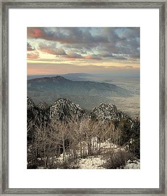 Sandia Happening.. Framed Print by Al  Swasey