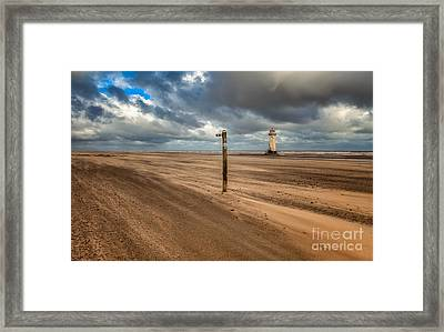 Sands Of Time Framed Print by Adrian Evans