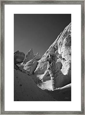 Sandstone Landscape I Bw Framed Print by David Gordon
