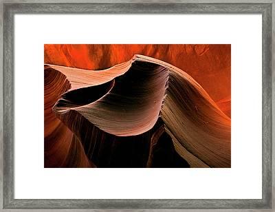 Sandstone Melody Framed Print by Mike  Dawson