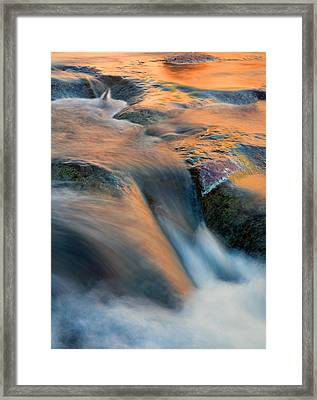Sandstone Reflections Framed Print by Mike  Dawson