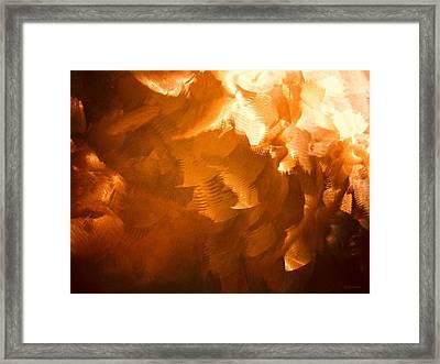 Sandstorm Framed Print by Barbara Drake