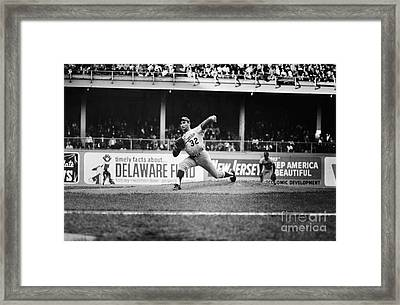 Sandy Koufax (1935- ) Framed Print by Granger