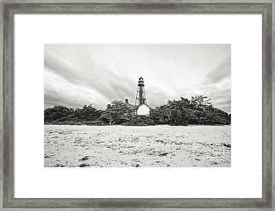 Sanibel Island Lighthouse Framed Print by Scott Pellegrin