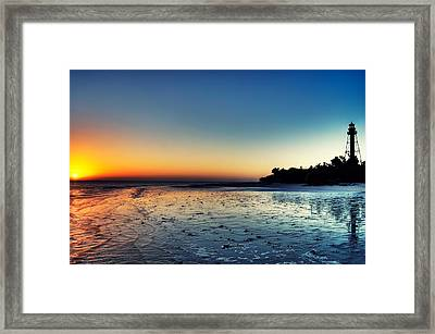 Sanibel Sunrise Framed Print by Rich Leighton