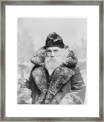 Santa Claus 1895 Framed Print by David Bridburg