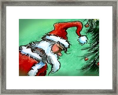 Santa Claus Framed Print by Kevin Middleton