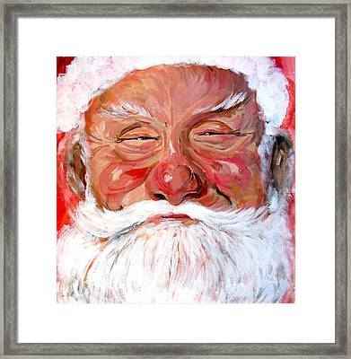 Santa Claus Framed Print by Tom Roderick
