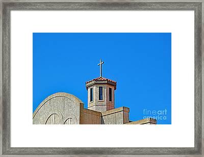 Santa Cruz Church  Framed Print by Ray Shrewsberry