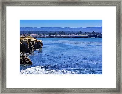 Santa Cruz Framed Print by Randy Bayne