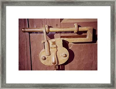 Santa Fe Lock Down Framed Print by Deborah J Humphries