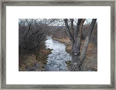 Santa Fe River Framed Print by Rob Hans